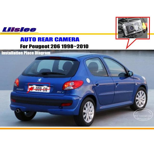 Liislee car rear view camera for peugeot 206 19982010 reverse liislee car rear view camera for peugeot 206 19982010 reverse camera hd asfbconference2016 Images