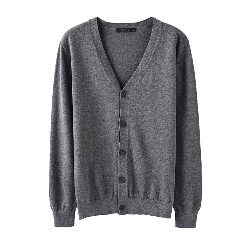 6Colors Men Cardigan Sweater Pure Cotton Knited Sweater Men Spring Autumn Winter Male Cardigans Brand Muls Fitted M L XL 2XL 3XL-06