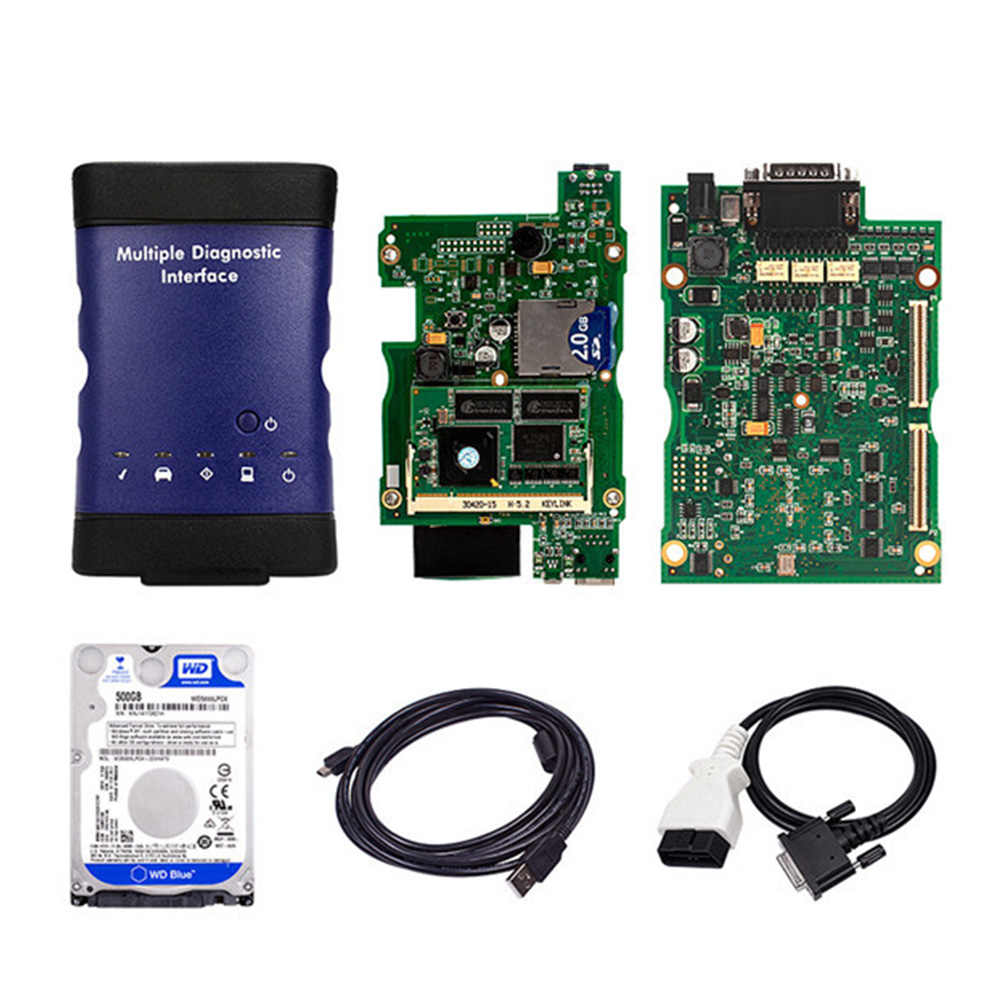 For G-M MDI with wifi with hdd 2017 2 optional Diagnostic Interface for MDI  Diagnostic Tool With Multi-Language with free