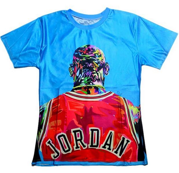 brand new 8ed73 fe27f mens t shirts fashion 2018 men women Jordan Print 3d t shirt Unisex Summer  style t shirt plus size S XXL Free shiiping-in T-Shirts from Men s Clothing  on ...