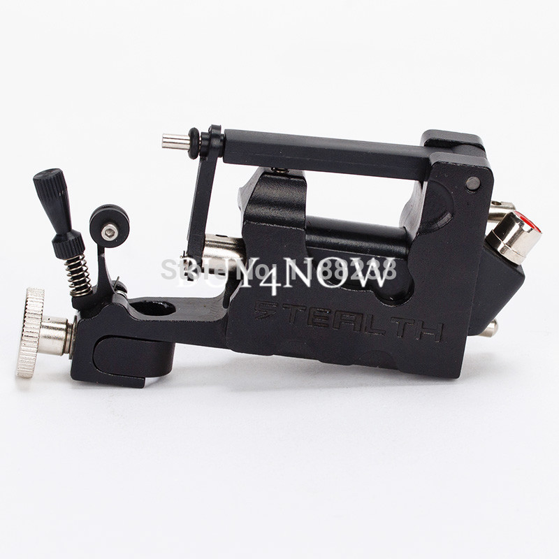 Light Weight Rotary Tattoo Machine 2ND Stealth Machine Gun Alloy 7 Colors Assroted Liner Shader Box free shipping