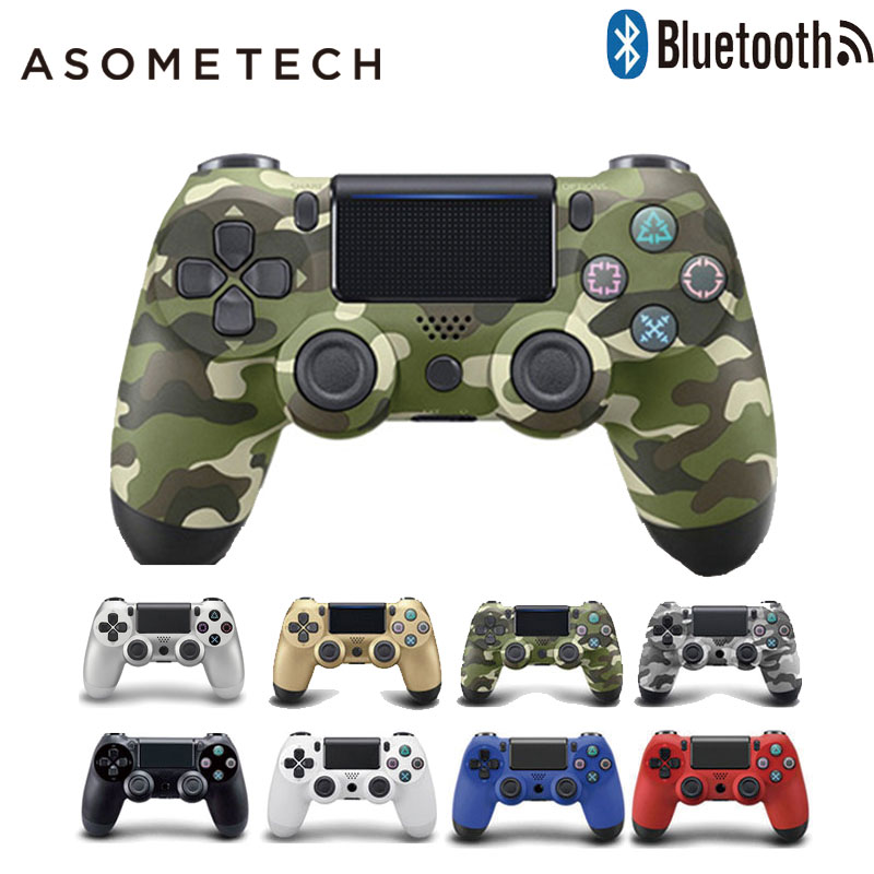 High Quality Bluetooth Wireless Joystick Gamepad Remote Game Controller For Sony Playstaion 4 ps4 Vibration Dual remote Gamepads voground new for sony ps4 bluetooth wireless controller for playstation 4 wireless dual shock vibration joystick gamepads