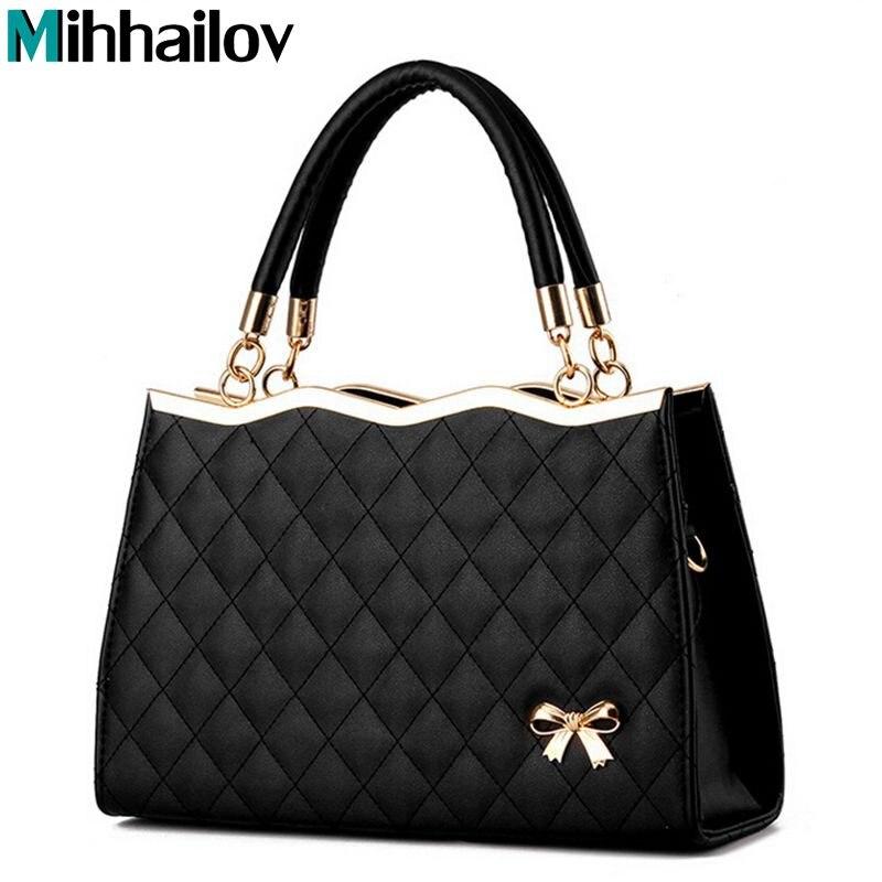 2019 Brand Luxury Women Leather Handbags Women's Trunk bolsos Messenger Bags Shoulder Bag Sac A Main Femme De Marque B40-718