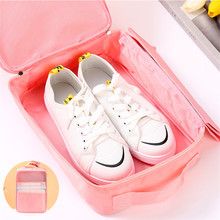 Zipper Convenient Travel Storage Bags Portable Organizer Bags Waterproof Shoe Sorting Pouch Multifunction Portable Shoe Bag