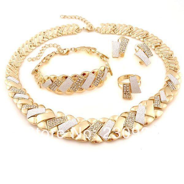2014 bangkok jewelry sets Pakistani bridal dubai gold jewelry sets