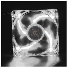 NEW 120mm LED DC 12V 3Pin Noiseless PC Computer Case Cooling Cooler Fan 1300RPM цена