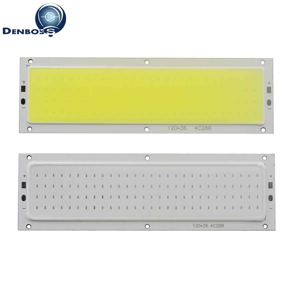 Горячая продажа 12 см Светодиодная лента COB 12 в свет 12 Вт 1000ЛМ трубы натуральные теплые белые синие светодиодные флип-чип для DIY светодиодная лампочка для авто COB полоса