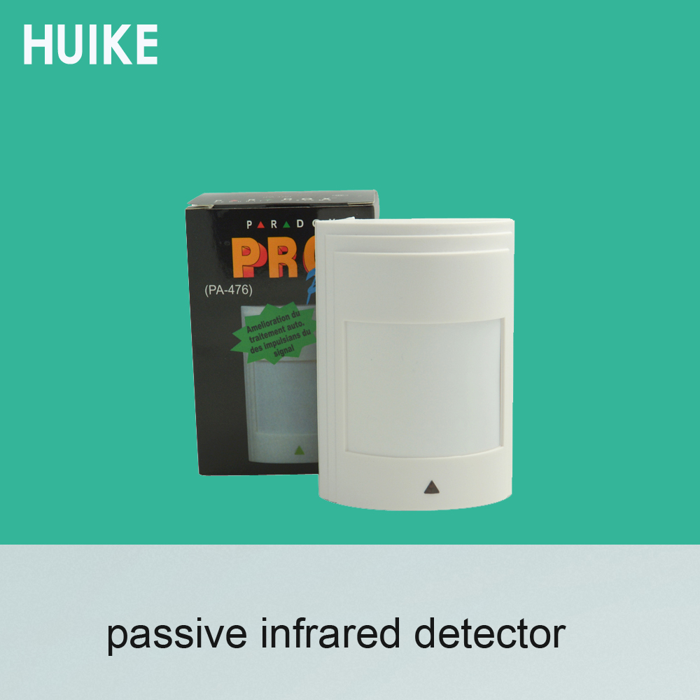 1 PCS Paradox Infrared Detector PA 476 Wall-mounted NC relay Signal Output Networking to alarm system Human Intruder Sensor