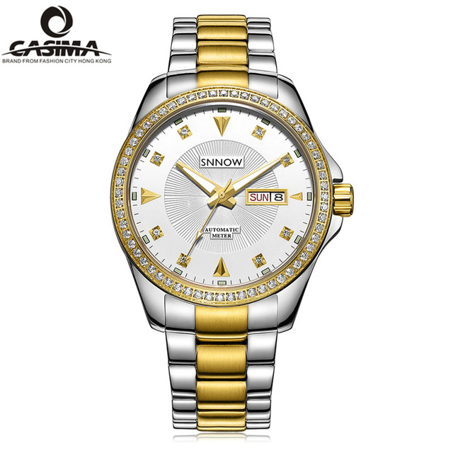 Mens Watches Top Brand Luxury Automatic Watch Men Waterproof Gold Military Mechanical Wrist Watch Clock Man Hours Reloj Hombre mens watches top brand luxury classic business dress quartz wrist watch man waterproof clock men 2017 reloj hombre casima 5124