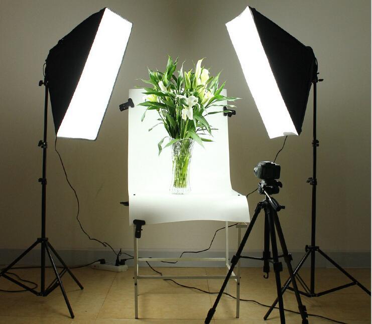 как самому сделать свет для фотостудии съемка фронтального