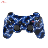 K ISHAKO For PS3 Controller Wireless Gamepad 8color Select For Playstation 3 Gamepad For Sony Blue,Purple,Red,Green,Grey Color