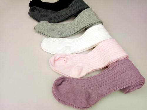 الطفل الوليد الرضع الاطفال الفتيات الجوارب القطن الدافئة جوارب طويلة جوارب ضيق 0-6Y 3