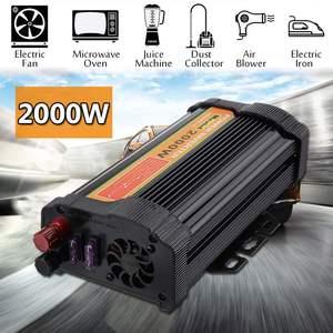 Power Inverter USB 2000W DC 12