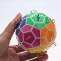 2016 novos Tops quebra-cabeça bola mágica coloridas fortalecido versão cubo mágico Puzzle brinquedo de presente de natal de aprendizagem e de ensino