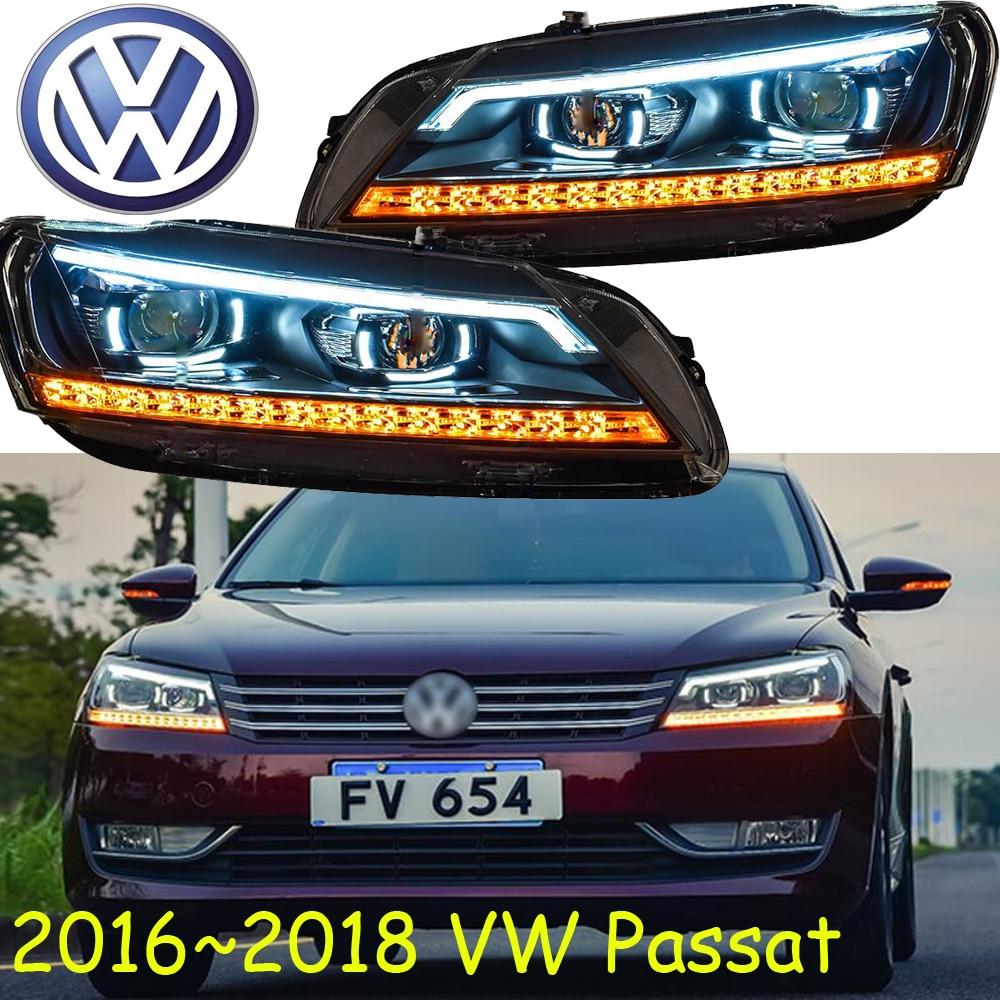 car-styling! Passat headlight,2016 2017 year,Fit for LHD&RHD,Free ship!Passat fog light,B7;magotan, Passat fog light