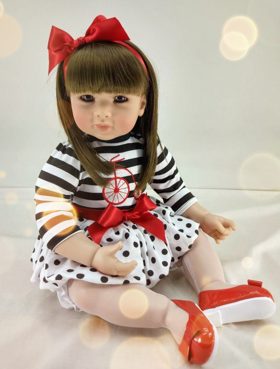 Pursue 20/51 cm Adora Baby Doll Reborn Silicone Doll Toys for Kid Lovely Toddler Dolls Birthday Present Gift Girls Brinquedos кукла adora baby doll 20 classic snow white
