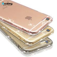 Ascromy Für iPhone XS Max Fall Glitter Luxury Klar Transparent Silikon Abdeckung Für iPhone X XR 7 Plus 8 6 6S 5 5S SE Zubehör