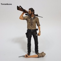 The Walking Dead Action Figure Rick PVC 250mm Anime TV Series Walking Dead Collectible Model Doll Toy