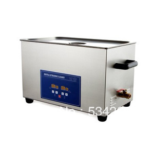 22L Stainless steel Digital Ultrasonic Cleaner with Timer and Heater (including Washing Basket) 22l stainless steel ultrasonic cleaner with timer and heater including washing basket