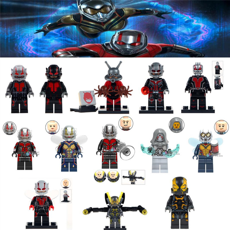 Marvel Super heroes ANT-MAN figure US Seller Avengers Free Flat Ship