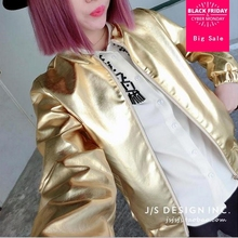 Wholesale 2020 new fashion Harajuku Europe solid gold silver