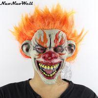 ใหม่ผู้ใหญ่ไฟหน้ากากตัวตลกสำหรับM Asqueradeแสดงน่ากลัวฮาโลวีน