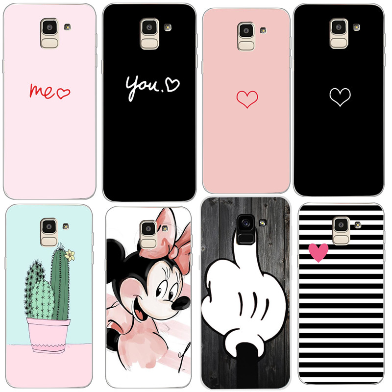 Silicone Phone Case For <font><b>Samsung</b></font> Galaxy A8 2018 A530 <font><b>A530F</b></font> <font><b>Cover</b></font> For <font><b>Samsung</b></font> J6 J4 J8 A7 A8 Plus 2018 A730 A730F Cases phone Shel image