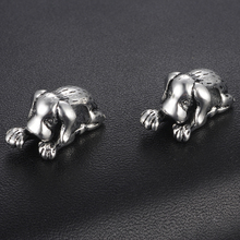 HOMOD Fashion European Charms Labrador Beads Fits PandoraFit Brand Bracelets & Bangles DIY Jewelry Fairy Tale Silver Color
