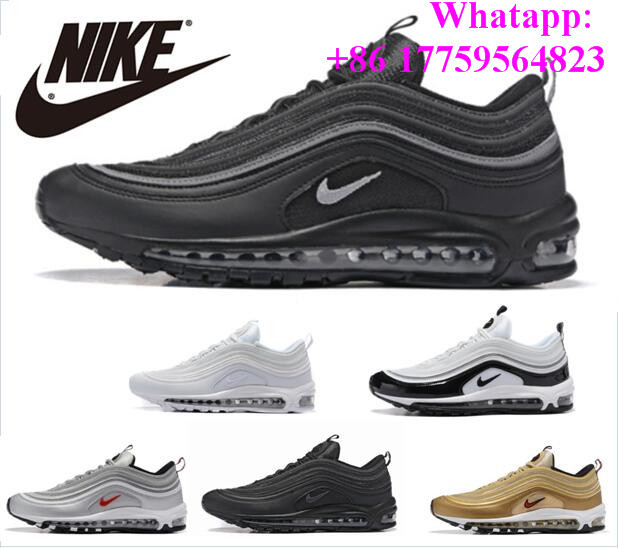 huge discount 08c09 ec860 ... 20a Navidad Invierno 97 Zapatos Hombre Zapatos de Los Hombres Zapatos  casuales 97 Anniversary Comprar Original Edición Limitada de Hombres Nike  Air Max ...