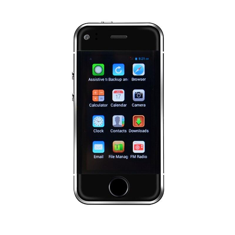 Original Super Mini Android Smart SOYES 6 S MTK6572 double coeur 1 GB + 8 GB 2.0MP double SIM haute définition écran déverrouiller S7 S8 S9 téléphone