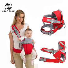 New Baby Carrier Front Facing Horizontal Carry Baby Sling Breathable 0-24 Months Ergonomic Baby Kangaroo Wrap