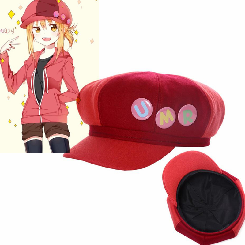 Kids Girl Anime Himouto! Umaru-chan Hats cartoon Cosplay Doma Umaru Cute Hats