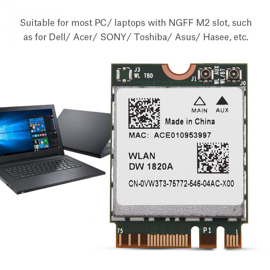 2.4G + 5G 2 in 1 Bluetooth Wifi Wi-Fi Card Network Card for SONY for Dell for Toshiba for Asua DIY Accessories caisy 1 1 60g in 5g