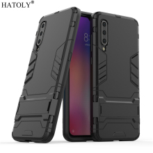 For Xiaomi Mi 9 Case Rubber Robot Armor Protective Phone Shell Hard PC TPU Back Cover for