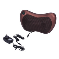 Electronic Heat Massage Pillow Massager Cushion Car Home Lumbar Neck Back Shoulder Relaxation Pillow Massage Devices