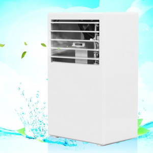 Easy Control 24 V Humidification Fan Cooler White Auto Portable Desktop Mini Car