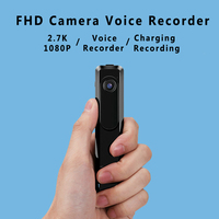 Volemer C18 Mini Camera 2.7 K HD H.264 Pen Camera Draagbare Werken Wanneer Opladen Voice Recorder Mini DV Camcorder Micro Camera
