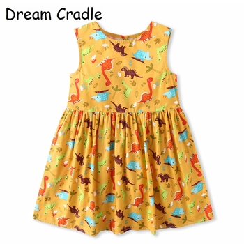 Dream Cradle 2019 Hot Summer ? Choose This ! Cheap , But Good Quality ! Baby Girls Dinosaur Dress, Toddler Dinosaur Dress