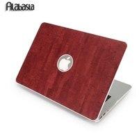 Wood Marble DIY Hard Case For Apple Macbook Retina 13 1 Bag Matte Protective PVC Vintage