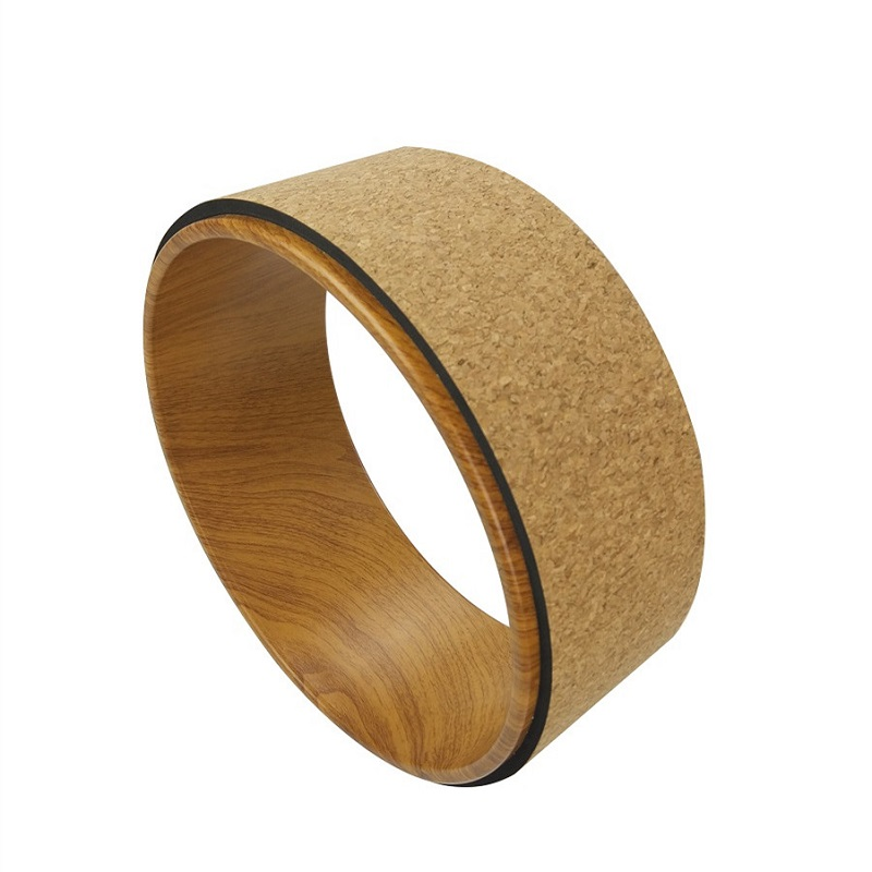 Cork+ABS Yoga Wheel / Ring Miracle Yoga Circle Pilates Rings Home Gym Fitness Equipments Priora Foam Roller Pilates Accessories  yoga accessories wheel | Yoga Wheel Introduction by SukhaMat Cork ABS font b Yoga b font font b Wheel b font Ring Miracle font b