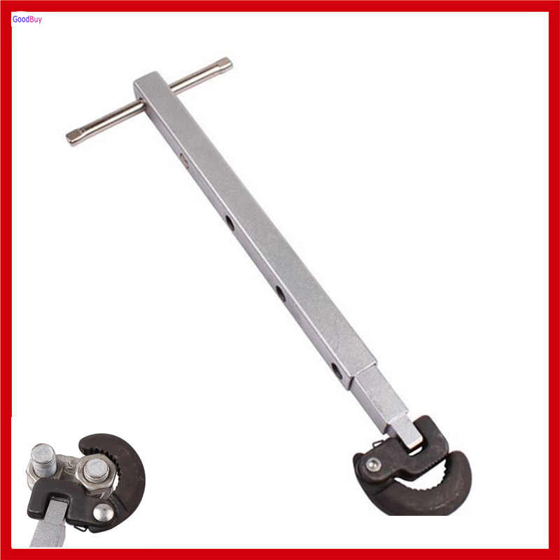 New Angle Adjustable Basin Wrench Soft Tube Tap Faucet Water Pipe Hose Telescopic Wrench Spanner