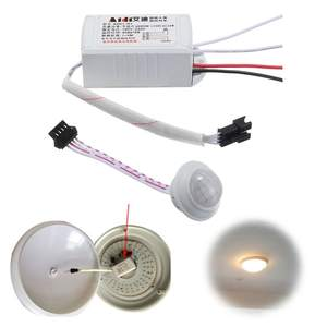 Light-Bulb Switch-Sensors Infrared 220V IR AC 1PC Led-Strip Pir-Body Automatic New-Arrival