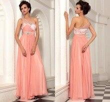 Neue Ankunft Lange Chiffon Abendkleid Kleid Backless 2015 Schulter Abend Formale Kleid Sleeveless Vestido De Festa F1970