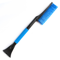 Car Snow Brush With Foam Grip With Ice Scraper Extendable 33 Telescoping Tools For Any Vehicle