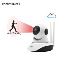 MINI Wifi IP Camera Wireless Cloud AI Auto Tracking Of Human 1080P Home Security Baby Monitor CCTV CAM 2MP PTZ Night Vision