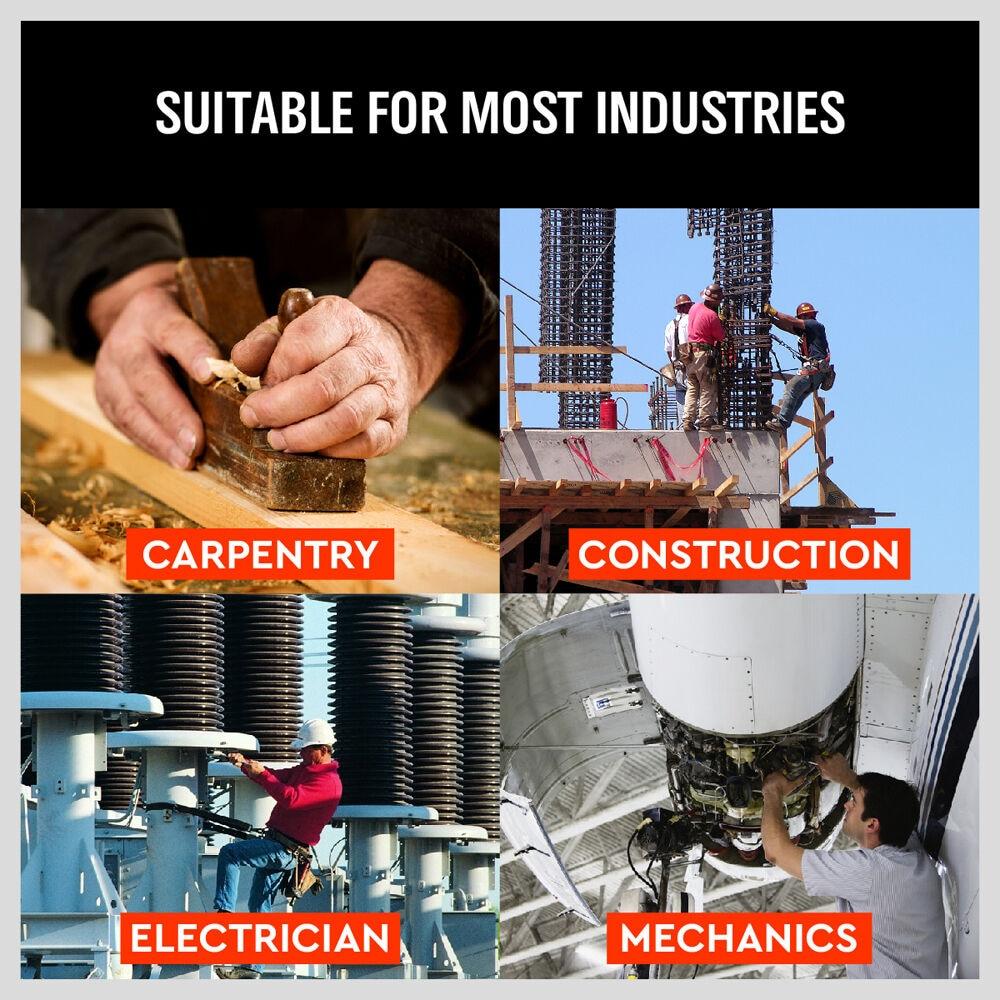 SEDY Bolsas para herramientas de electricista de alta calidad 8 - Almacenamiento de herramientas - foto 6
