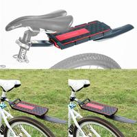 Aluminum Alloy Bike Rear Rack Quick Cycling Removal About 0.6kg Installation Rack With Tail 10kg Fender