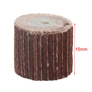 Mandrel Mini Drill-Polish-Tool Sandpaper Flap Grinding 15MM Shank for Rotary Wheel-Head
