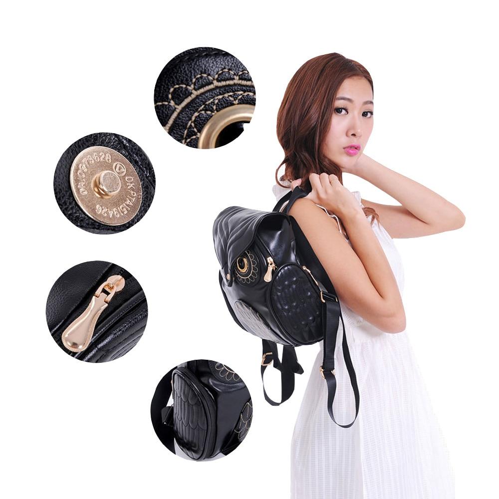 HTB1LB2Lt5AnBKNjSZFvq6yTKXXaN Cute Owl Fashion Backpacks Cartoon Women Backpack Softback School Bags Teenage Backpacks for Girls #YL5