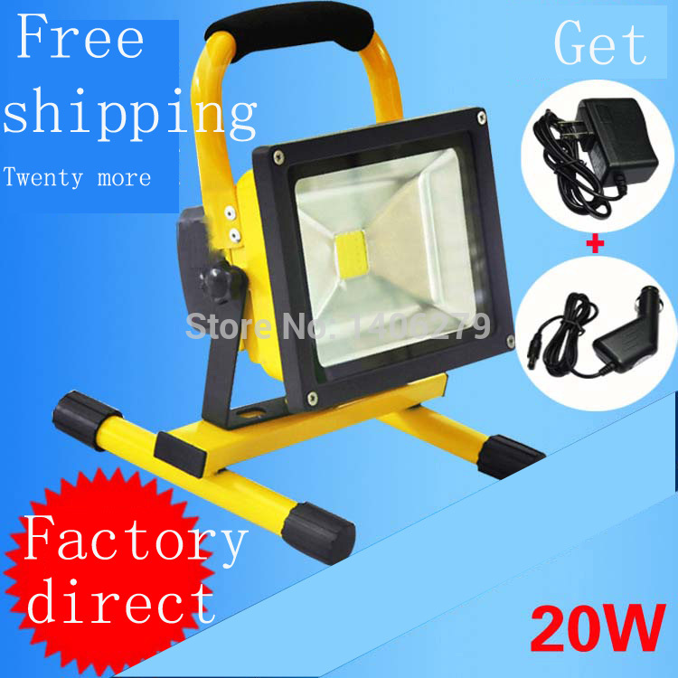 20W LED Outdoor Floodlight White/warm white Waterproof Emergency Floodlight LED Outdoor Spotlight LED Outdoor Lamp Light